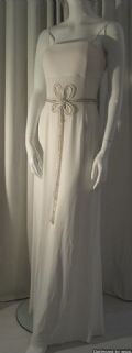 Contemporary White jersey Goddess Gown Sara X Bernshaw